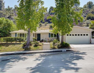 Glendale Single Family Home For Sale: 1610 Sheridan Road