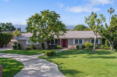 Arcadia Single Family Home For Sale: 971 Hugo Reid Drive