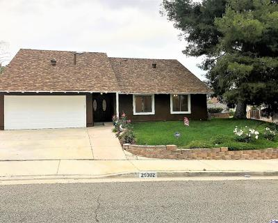 Los Angeles County Single Family Home For Sale: 29302 Snapdragon Place