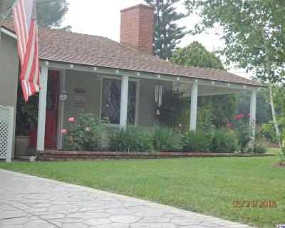 Glendale Single Family Home For Sale: 3842 Second Avenue