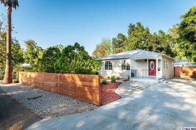 Sherman Oaks Single Family Home For Sale: 5918 Cedros Ave Avenue