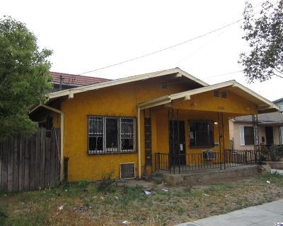 Glendale Single Family Home For Sale: 1006 East Lomita Avenue