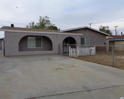 Palmdale Single Family Home For Sale: 1167 West Avenue P1