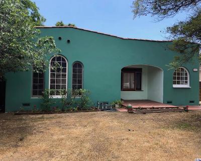 Glendale Single Family Home For Sale: 1516 Glenwood Road