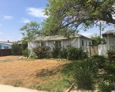 Mission Hills San Fernando Single Family Home Active Under Contract: 15209 Devonshire Street