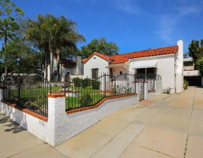 Toluca Lake Single Family Home For Sale: 11121 Landale Street