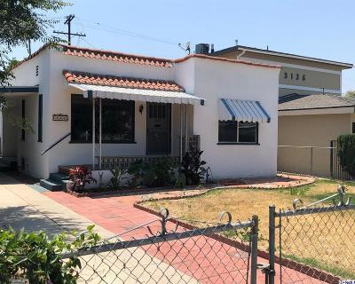 Los Angeles Single Family Home For Sale: 3132 Perlita Avenue