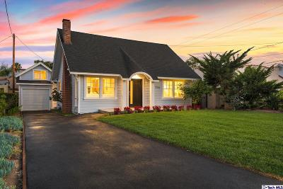 Pasadena Single Family Home For Sale: 1756 Beverly Drive