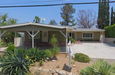 Shadow Hills Single Family Home For Sale: 10247 McBroom Street