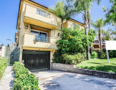 Burbank Condo/Townhouse For Sale: 701 East Cypress Avenue #102