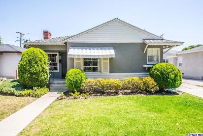 Culver City Single Family Home For Sale: 4036 Tilden Avenue