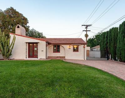 Glendale Single Family Home For Sale: 430 Sonora Avenue