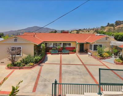 Glendale Single Family Home For Sale: 824 Avonoak Terrace