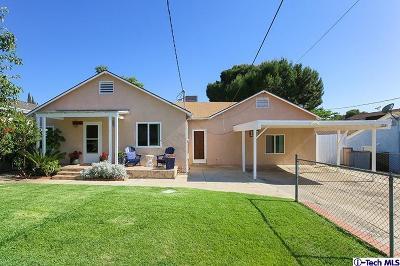 Sunland Single Family Home For Sale: 7826 Jayseel Street