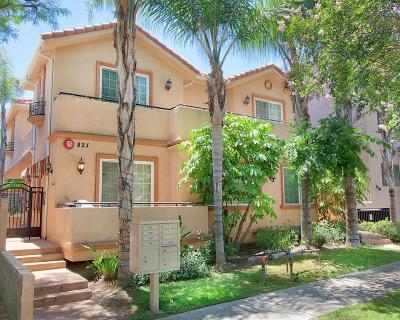 Burbank Condo/Townhouse For Sale: 821 South 6th Street #102