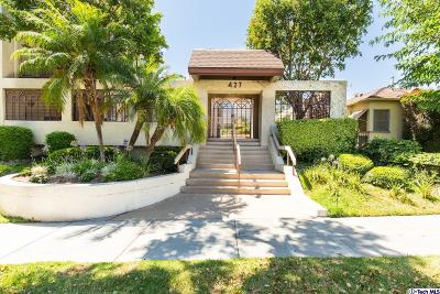 Burbank Condo/Townhouse For Sale: 427 East Orange Grove Avenue #106