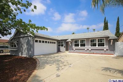 Los Angeles County Single Family Home For Sale: 8545 Langdon Avenue