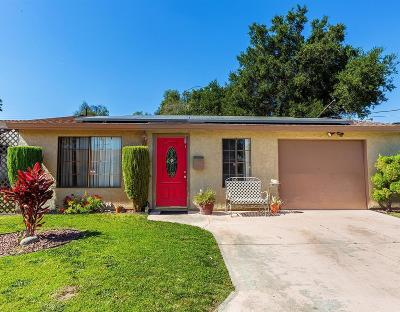 Valley Village Single Family Home For Sale: 11941 Hatteras Street