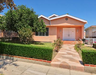 Los Angeles County Single Family Home For Sale: 1426 North Pacific Avenue