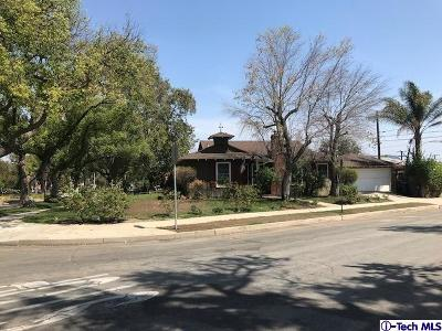 Burbank Single Family Home For Sale: 1634 North Rose Street