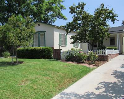 Los Angeles Single Family Home For Sale: 5200 Dahlia Drive