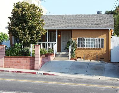 Los Angeles Single Family Home For Sale: 5517 Via Marisol