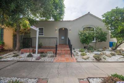 Los Angeles County Single Family Home For Sale: 7170 Rosewood Avenue