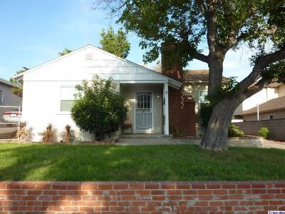 Burbank Single Family Home For Sale: 3000 North Buena Vista Street