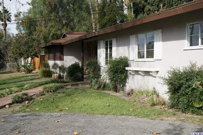 Sylmar Single Family Home For Sale: 10525 Arnwood Road