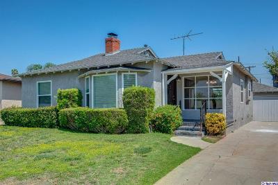 Burbank Single Family Home For Sale: 2109 West Monterey Avenue