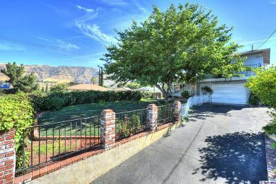 Sunland Single Family Home For Sale: 10862 Oro Vista Avenue