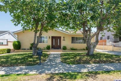 Sunland Single Family Home For Sale: 10226 Wescott Avenue