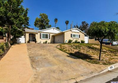 Burbank Single Family Home For Sale: 7734 Shady Cove Avenue