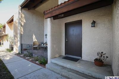 Burbank Condo/Townhouse For Sale: 7718 Via Sorrento