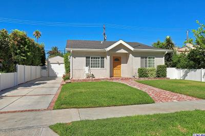 Burbank Single Family Home For Sale: 1431 North Avon Street