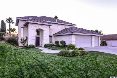 Lancaster CA Single Family Home Sold: $474,000