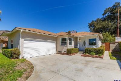 Sunland Single Family Home For Sale: 10908 Nassau Avenue