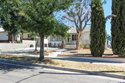 Burbank Single Family Home For Sale: 528 Stanford Road