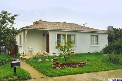North Hollywood Single Family Home For Sale: 7646 Whitsett Avenue