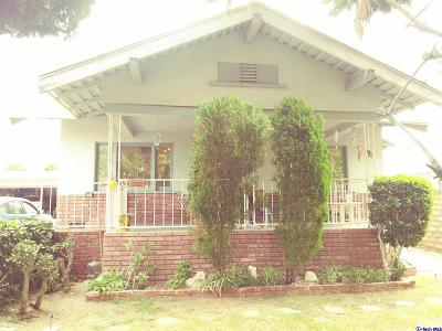 Sunland Single Family Home For Sale: 10950 Odell Avenue