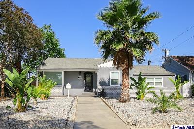 Burbank Single Family Home For Sale: 1320 North Catalina Street