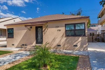 Burbank Single Family Home For Sale: 1704 Keeler Street
