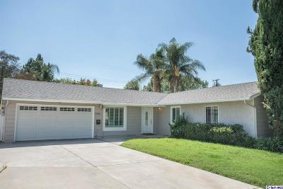 Canoga Park Single Family Home For Sale: 22300 Leadwell Street