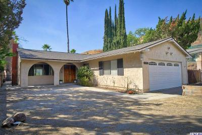 Sunland Single Family Home For Sale: 11153 Langmuir Avenue
