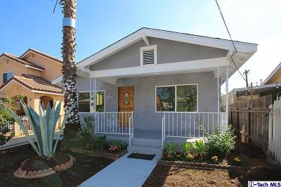 Los Angeles Single Family Home For Sale: 5418 Meridian Street