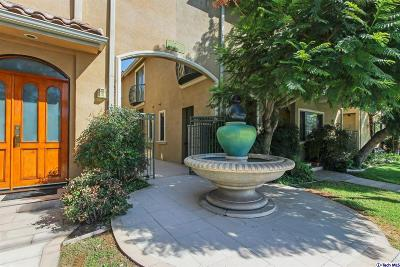 Burbank Condo/Townhouse For Sale: 216 North Buena Vista Street #108