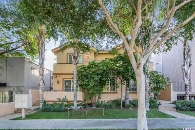 Burbank Condo/Townhouse For Sale: 821 South 6th Street #103