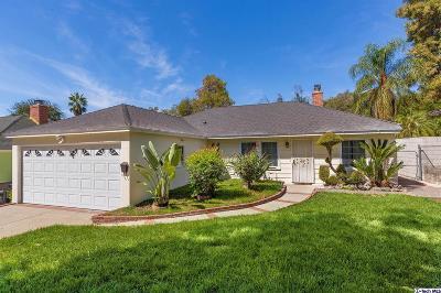 Altadena Single Family Home For Sale: 3303 Alicia Avenue