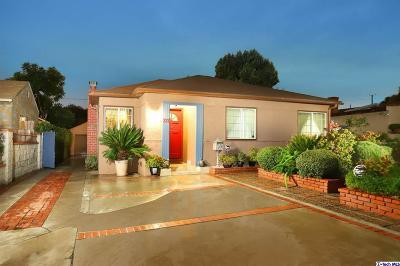 Burbank Single Family Home For Sale: 337 North Keystone Street