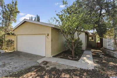 Glendale Single Family Home For Sale: 3902 Los Olivos Lane